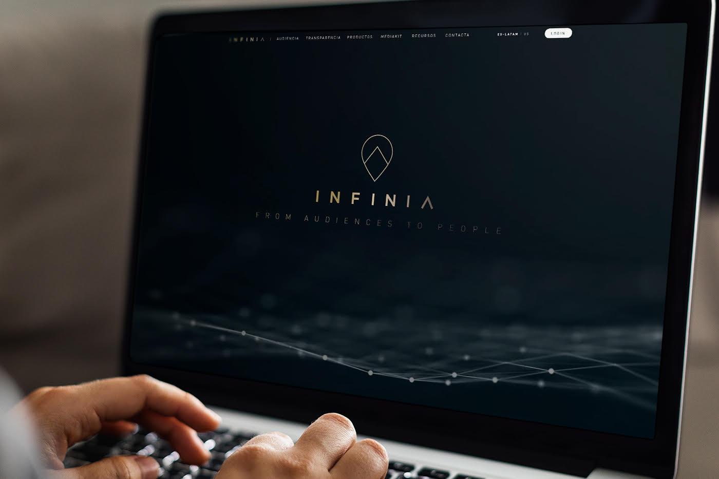 Infinia actualiza su nueva imagen, con nueva web y nuevos servicios